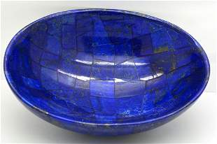 395 Grams Royal Blue Lapis Lazuli Bowl