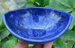 329 Grams Beautiful Lapis Lazuli Bowl