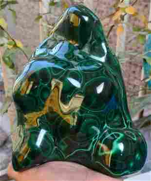 4.5 kg Amazing Malachite tumble Collection Pieces with