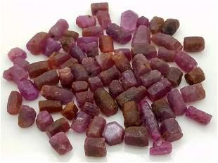 60 Grams Beautiful Ruby Crystals Lot