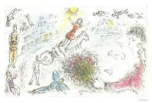 L'ame du Cirque - Marc Chagall