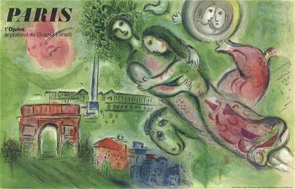 Romeo and Juliette - Marc Chagall