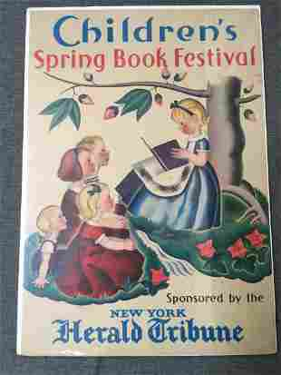 Children's Spring Book Festival - Art by Gustaf