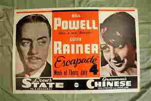 Escapade - Powell and Rainer - Graumans Theater