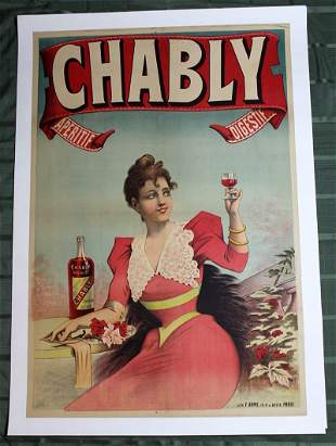 Belle Epoque 'Chably' Aperitif Digestif (France,