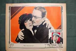 The Unholy Three (USA, 1925) Movie Lobby Cards - RARE!