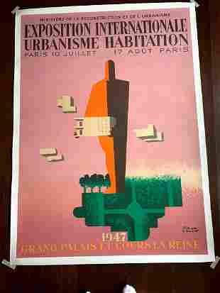Exposition - Internationale Urbanisme - Art by Paul