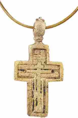 FINE EASTERN EUROPEAN CHRISTIAN CROSS