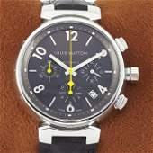 Louis Vuitton - Tambour Chronograph - Ref: Q1121 - Men