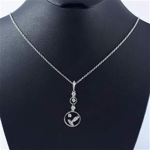 18K White Gold - Necklace