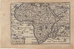 1648 van den Keere Map of Africa -- Africa