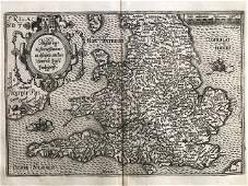 RARE map of England