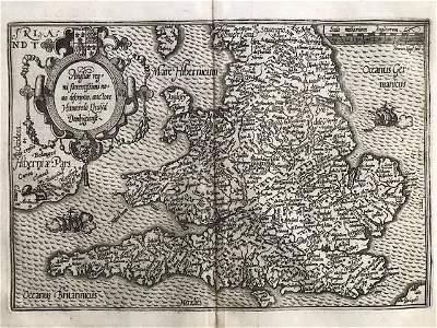 RARE map of England