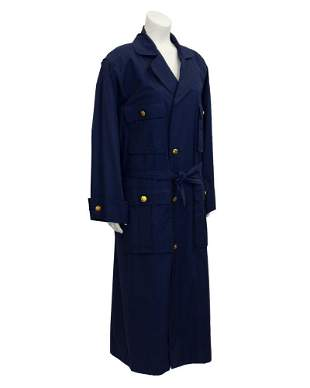 Chanel Navy Trench