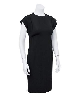 Geoffery Beene Black Silk Cocktail Dress