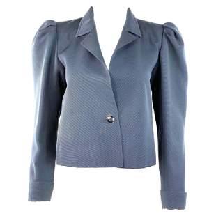 Vintage YSL Yves Saint Laurent Rive Gauche Navy Blazer