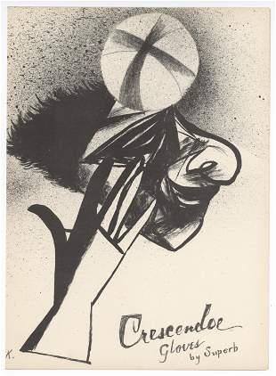 Yasuo Kuniyoshi original lithograph