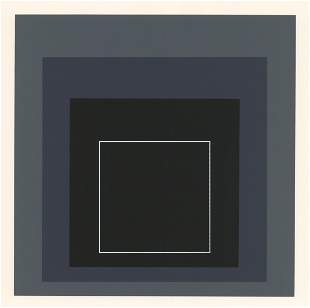 Josef Albers serigraph | Homage to the Square