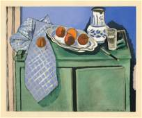 "Henri Matisse ""Le Buffet"" pochoir, 1929"