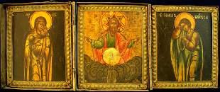 Father Sabaoth, Triptych