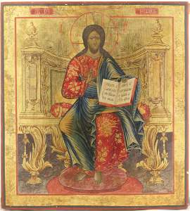 Christ the Almighty Enthroned