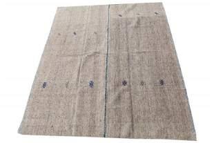 Vintage Mid-Century Turkish Kilim Wool Rug
