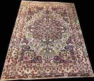 A Fabulous Antique 19th Century Persian Lavar Kerman