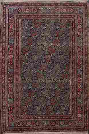 Antique Tabriz Persian Area Rug 4x7