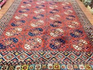 Vintage Earsari Turkoman Rug-4316