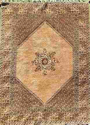 "Oriental Hamadan Design, 11'7"" x 8'2"", Wool."