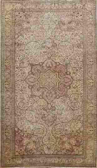 Antique Vegetable Dye Anatolian Turkish Area Rug 6x10