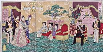 Nobukazu: Emperor Receiving Guests