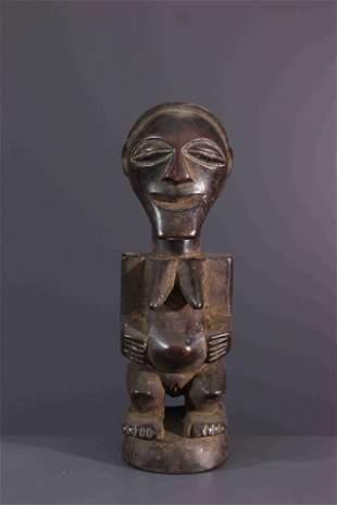 Songye wood figure - DRC Congo - African Art Tribal Art