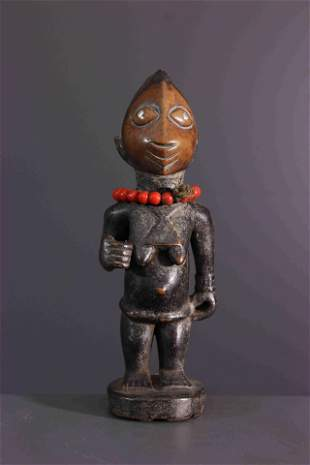 Ere Ibeji Yoruba wood figure - Nigeria - African Art