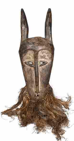 Bwami Kayanda Mask – Wood – Lega – DR Congo