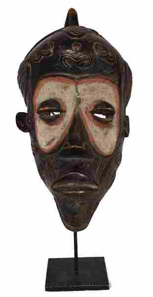 Circumcision Mask – Wood – Bena Lulua – DR Congo