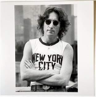 Bob Gruen: John Lennon, NYC 1974
