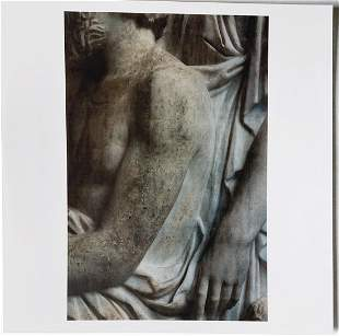 James Welling: Grave Stele with Family Group. 2020