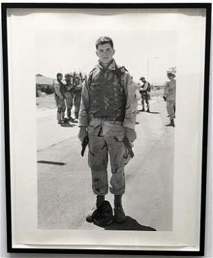 An-My Le: 29 Palms:Corporal Hoepper, 2004