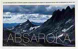 Hamish Fulton: Absaroka: Absaroka