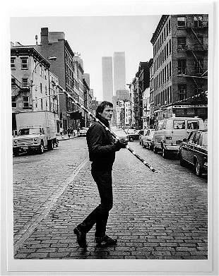 Andre' Cadere: 11 December, 1976 David Ebony Gallery,