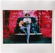 Elliott Landy  Bob Dylan Woodstock NY 1968