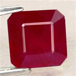 1,54 cts Natural Scissor Cut Blood Red Ruby
