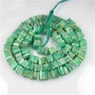 112.45 Cts 220 Natural Amazonite Beads