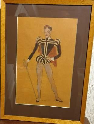 Theatre costume design 1936 W.Chappell