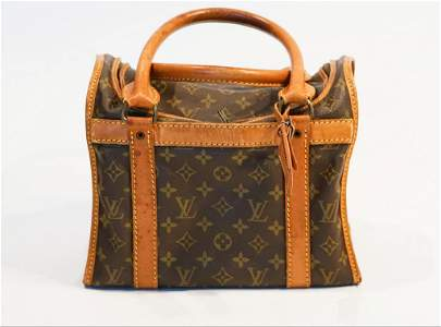 Louis vuitton monogram doggie handbag M42024