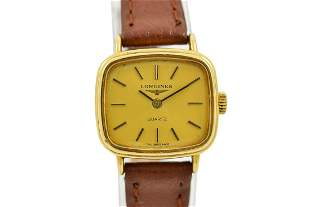 Vintage Longines Classic Gold Plated Quartz Ladies