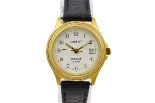 Vintage Tissot Seastar 3ATM Gold Plated Ladies Quartz