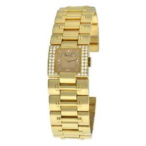 Ladies Piaget Dancer Carree 50011 K83 Diamond Solid 18K