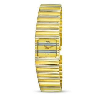 New 18k Gold Two Tone JUVENIA Ladies Polo watch